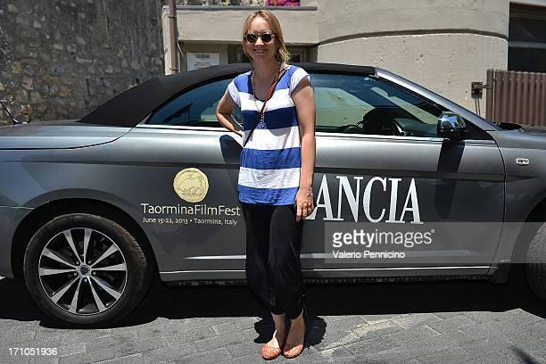 Elena Bouryka arrives in Taormina during the Taormina Filmfest 2013 on June 21 2013 in Taormina Italy