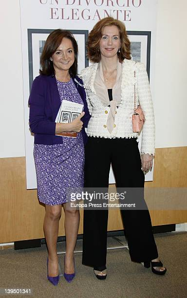 Elena Boyra attends the launching of the book 'An Smart Divorce' by Purificacion Puyol at Reader's Circle on February 21 2012 in Madrid Spain