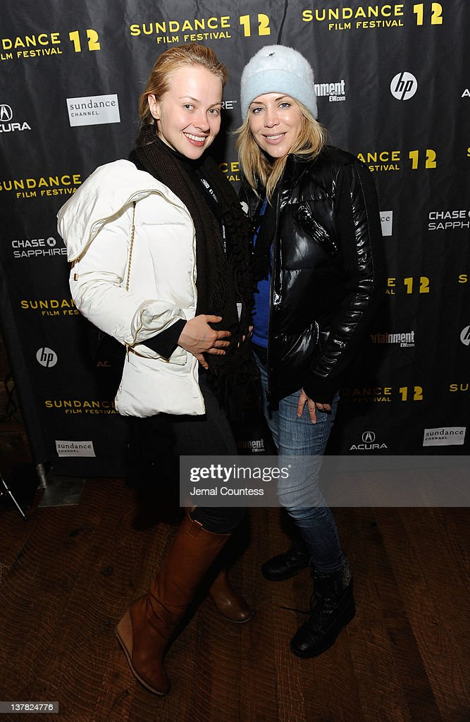 Elena Bugaeva and Sherrie Rose attend the Alfred P. Sloan Foundation Reception & Prize Announcement during the 2012 Sundance Film Festival on January 27, 2012 in Park City, Utah.