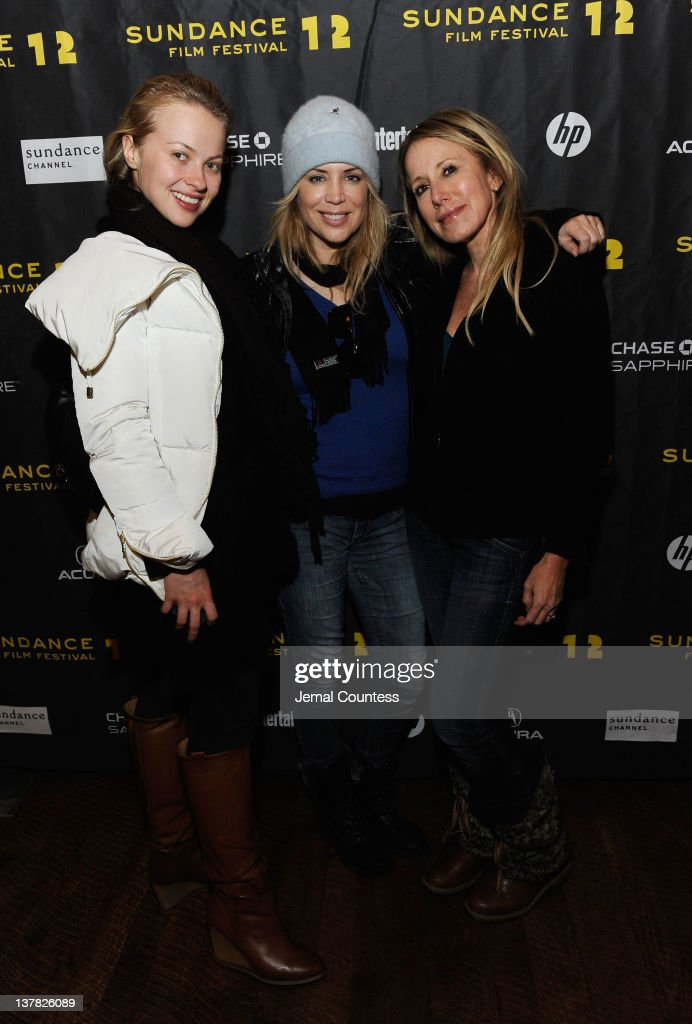 Elena Bugaeva, Sherrie Rose and Elana Krausz attend the Alfred P. Sloan Foundation Reception & Prize Announcement during the 2012 Sundance Film Festival on January 27, 2012 in Park City, Utah.