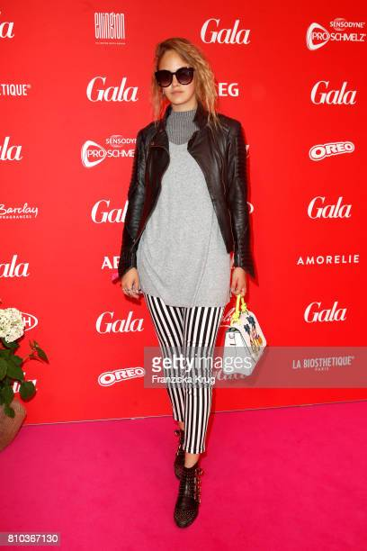 Elena Carriere attends the Gala Fashion Brunch during the MercedesBenz Fashion Week Berlin Spring/Summer 2018 at Ellington Hotel on July 7 2017 in...