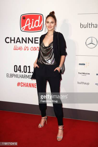 Elena Carriere during the Channel Aid Live in concert at Elbphilharmonie on January 4 2020 in Hamburg Germany
