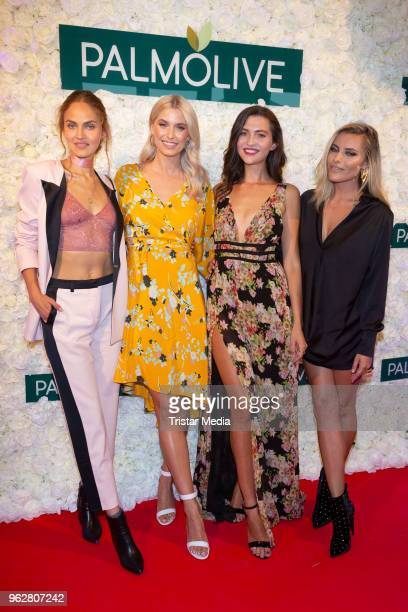 Elena Carriere Lena Gercke Fata Hasanovic and Sophia Thomalla attend the Cherry Blossom Night on May 25 2018 in Hamburg Germany