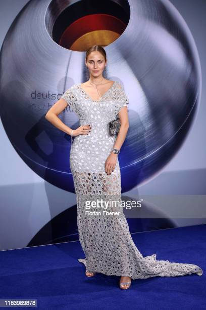 Elena Carrière attends the German Sustainability Award at Maritim Hotel on November 22, 2019 in Duesseldorf, Germany.