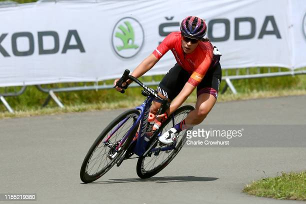 Elena Cecchini of Italy and Team Canyon SRAM Racing / during the 6th OVO Energy Women's Tour 2019, Stage 2 a 62,5km stage from Kent Cyclopark -...