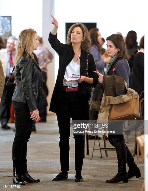 Elena Cue and Miriam Lapique attend ARCO 2015 International Contemporary Art Fair at Ifema on February 25 2015 in Madrid Spain