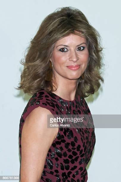Elena Cue attends the 'Mariano de Cavia' 'Luca de Tena' and 'Mingote' Journalism awards on October 26 2017 in Madrid Spain