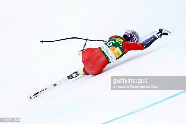 Elena Curtoni of Italy competes during the Audi FIS Alpine Ski World Cup Women's Downhill Training on January 09 2015 in Bad Kleinkirchheim Austria
