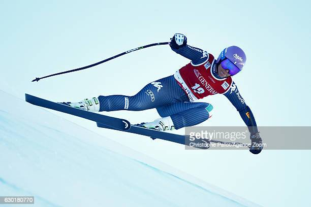 Elena Curtoni of Italy competes during the Audi FIS Alpine Ski World Cup Women's SuperG on December 18 2016 in Vald'Isere France