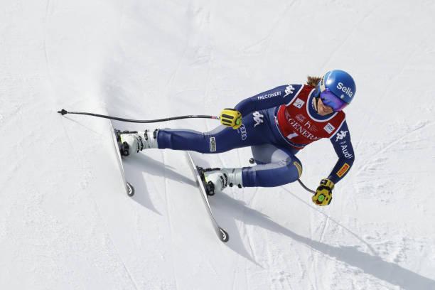 ITA: Audi FIS Alpine Ski World Cup - Women's Downhill