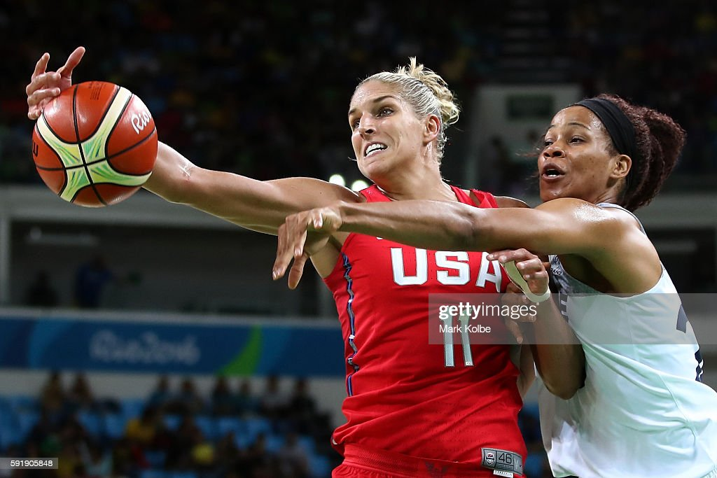 Basketball - Olympics: Day 13 : News Photo