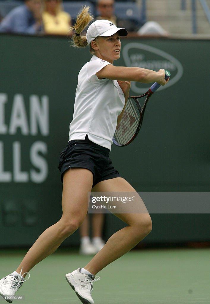 2005 Pacific Life Open - Women's Singles - Kim Clisters vs Elena Dementieva -