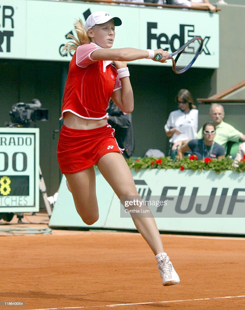 2004 French Open - Women's SemiFinal - Paola Suarez vs Elena Dementieva