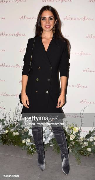 Elena Furiase attends 'Alma En Pena' new opening store on December 14 2017 in Madrid Spain