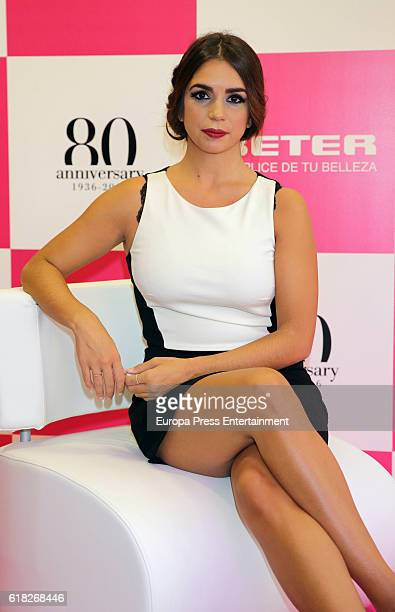 Elena Furiase attends Better 80th Anniversary on October 25 2016 in Madrid Spain