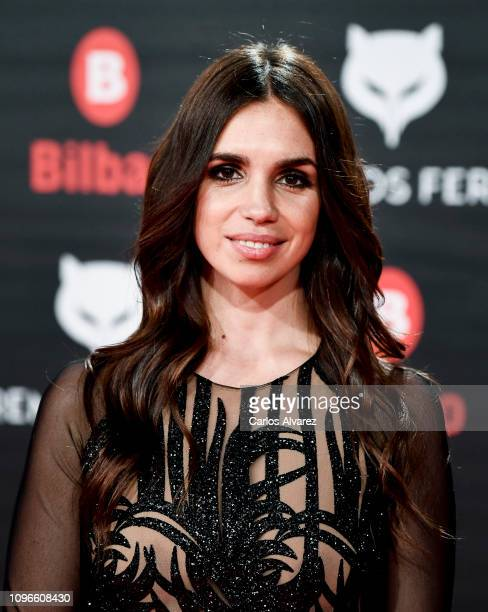 Elena Furiase attends during Feroz awards red carpet on January 19 2019 in Bilbao Spain
