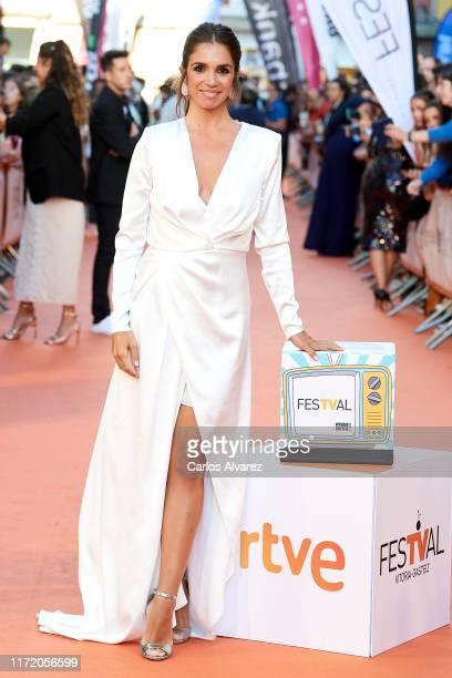 Elena Furiase attends 'Masterchef Celebrity' premiere at Teatro Principal on September 03 2019 in VitoriaGasteiz Spain