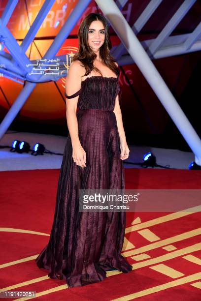 Elena Furiase attends the opening ceremony of the 18th Marrakech International Film Festival - Day One - on November 29, 2019 in Marrakech, Morocco.