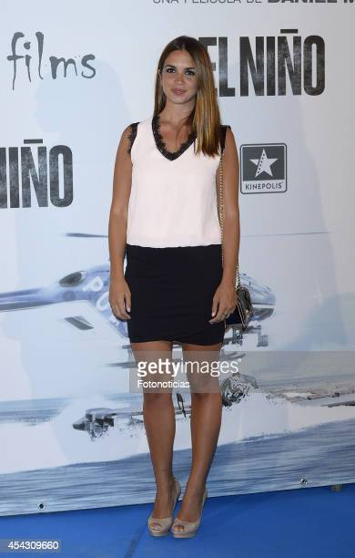 Elena Furiase attends the premiere of 'El Nino' at Kinepolis Cinema on August 28, 2014 in Madrid, Spain.