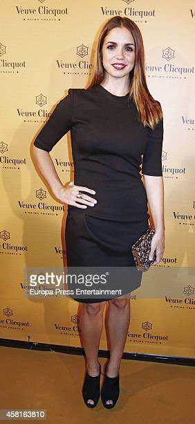 Elena Furiase attends Veuve Clicquot Yelloween Party on October 30 2014 in Madrid Spain