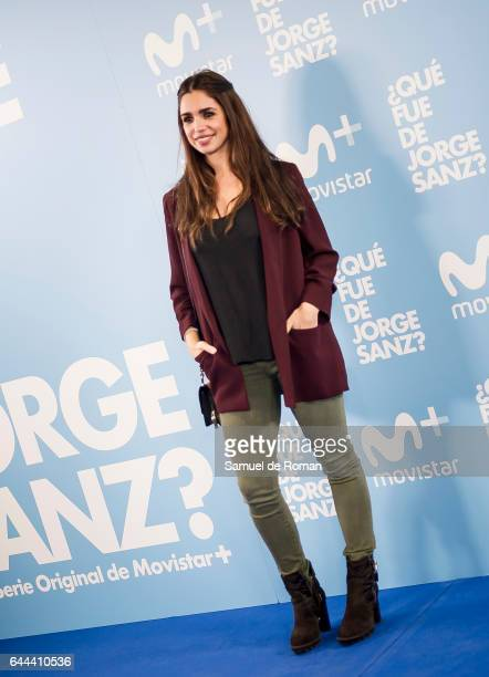 Elena Furiase during 'Que fue de Jorge Sanz' Madrid Premiere on February 23 2017 in Madrid Spain