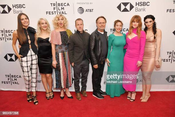 Elena Ghenoiu Jemima Kirke Lola Kirke Scott Caan Billy Crystal Emma Forrest Alice Eve and Chloe Catherine Kim attend the screening of Untogether...