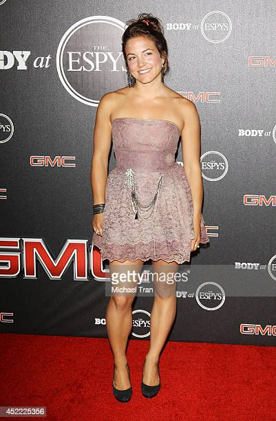 Elena Hight arrives at the BODY at ESPYS PreParty held at Lure on July 15 2014 in Hollywood California
