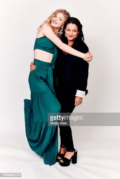 Elena Kampouris and Raelle Tucker of Blumhouse Television's 'Sacred Lies' pose for a portrait during the 2018 Summer Television Critics Association...