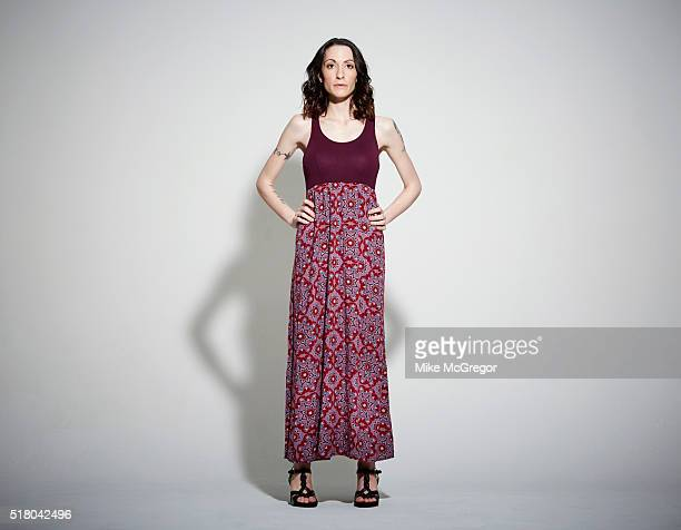 Elena Keltch aka Elena Dunkle shot in NYC for The London Times 4/24/15Author Elena Dunkle is photographed for The London Times on April 24 2015 in...