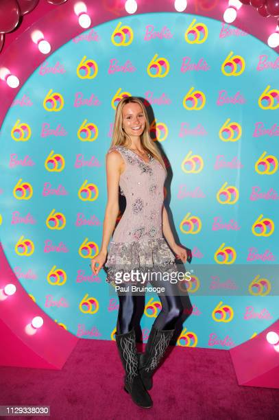 Elena Kurnosova attends Barbie's 60th Anniversary at 505 Broadway on March 8 2019 in New York City
