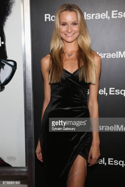 Elena Kurnosova attends Roman J Israel Esquire New York Premiere on November 20 2017 in New York City