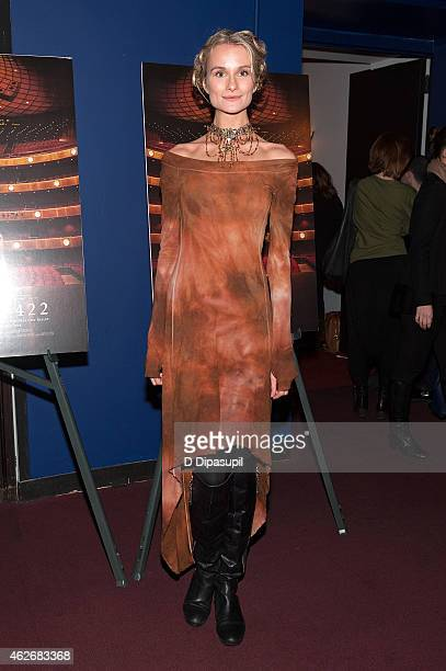 Elena Kurnosova attends the Ballet 422 New York Premiere at Florence Gould Hall on February 2 2015 in New York City