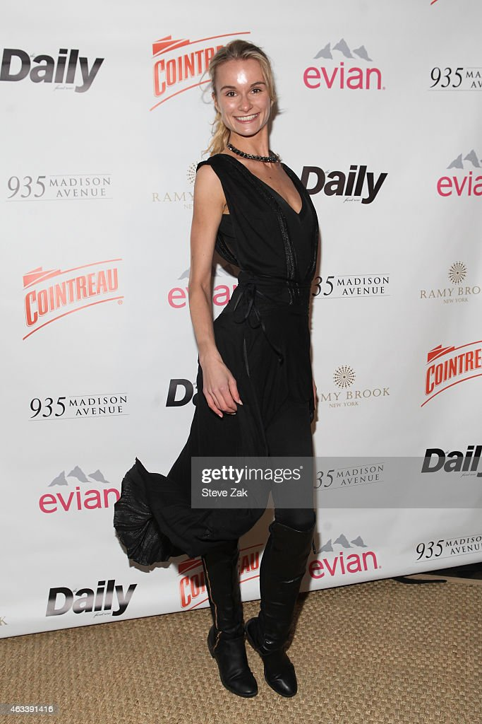 The Daily Front Row's 2015 Model Issue Reception - Arrivals : News Photo
