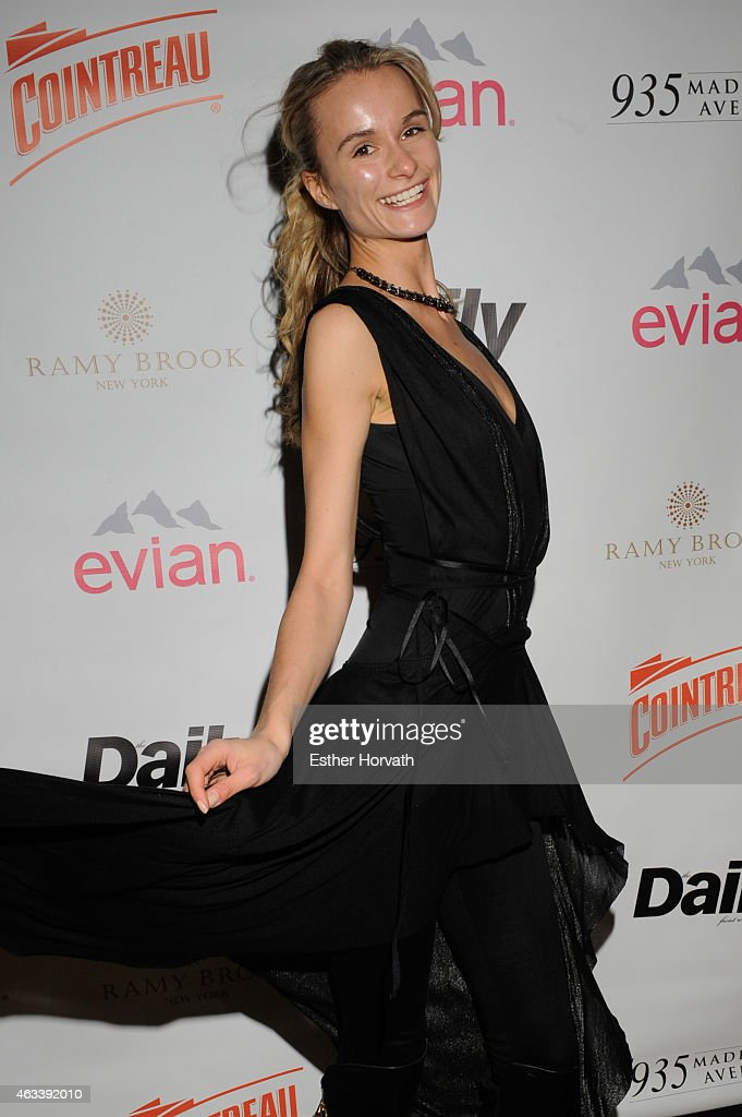 The Daily Front Row's 2015 Model Issue Reception : News Photo
