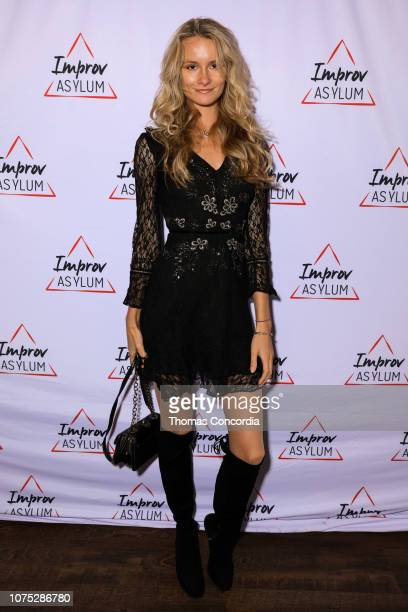 Elena Kurnosova attends the Improv Asylum Grand Opening Event on November 30 2018 in New York City