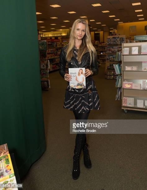 Elena Kurnosova attends the Models Do Eat book signing at Barnes Noble Tribeca on February 07 2019 in New York City