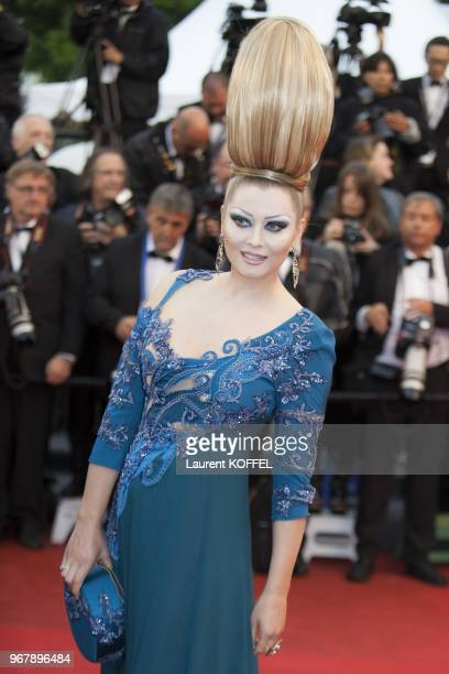 Elena Lenina attends 'Jimmy P ' Premiere during the 66th Annual Cannes Film Festival at Grand Theatre Lumiere on May 18 2013 in Cannes France