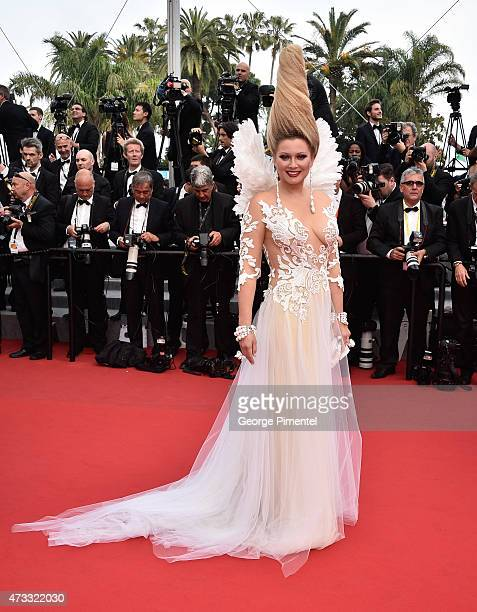 "Elena Lenina attends the ""Mad Max : Fury Road"" Premiere during the 68th annual Cannes Film Festival on May 14, 2015 in Cannes, France."