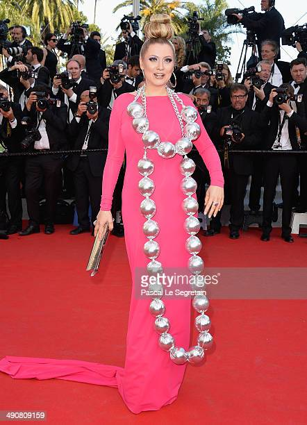 Elena Lenina attends the Mr Turner premiere during the 67th Annual Cannes Film Festival on May 15 2014 in Cannes France