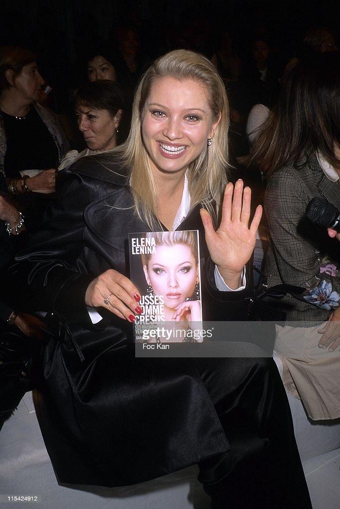 Paris Fashion Week SpringSummer 2007 - Jean Louis Scherrer Front Row and Backstage : News Photo