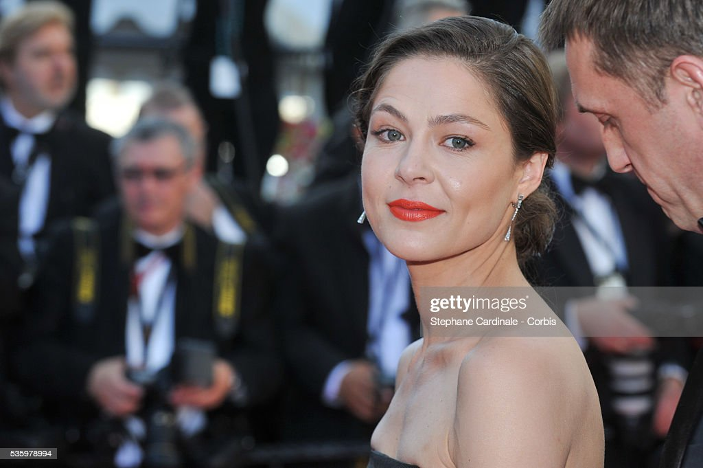 Elena Lyadova at the Closing ceremony and 'A Fistful of Dollars' screening during 67th Cannes Film Festival
