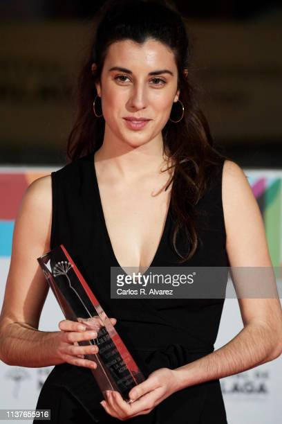 Elena Martin attends 'Retrospectiva' award ceremony during the 22th Malaga Film Festival on March 22 2019 in Malaga Spain