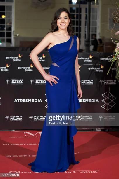 Elena Martinez attends the 'Malaga Hoy' award during the 21th Malaga Film Festival at the Cervantes Theater on April 16 2018 in Malaga Spain