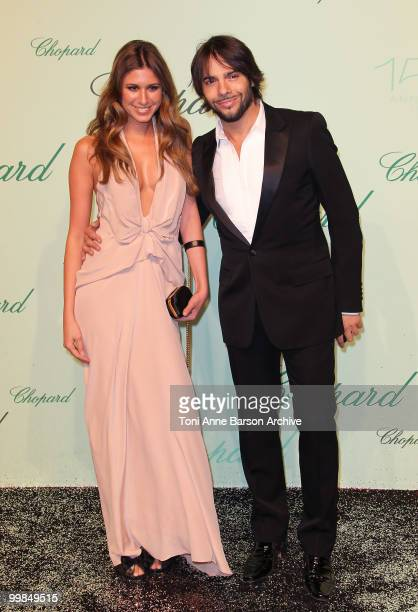 Elena Maruenda and Joaquin Cortes attends the Chopard 150th Anniversary Party at the VIP Room, Palm Beach during the 63rd Annual International Cannes...