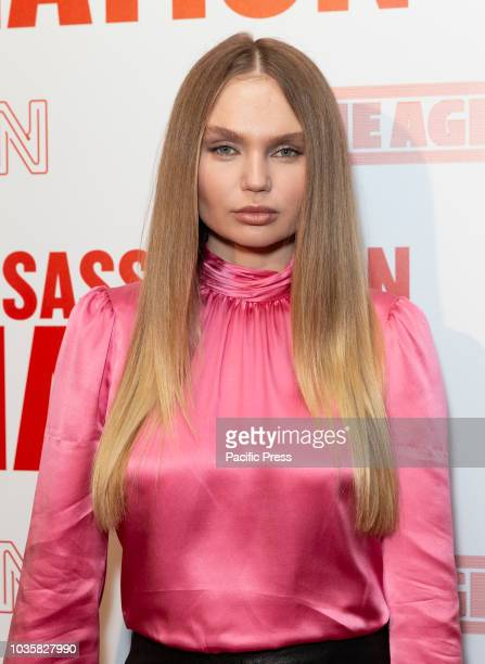 Elena Matei attends premiere of Assassination Nation at Metrograph
