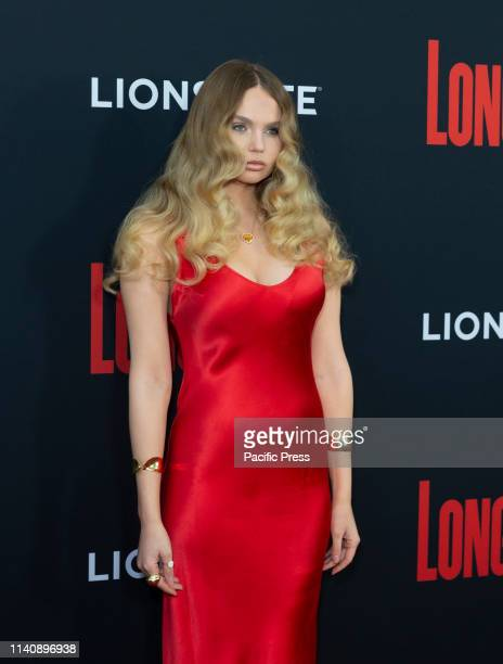 Elena Matei attends premiere of Long Shot at AMC Lincoln Center Theater