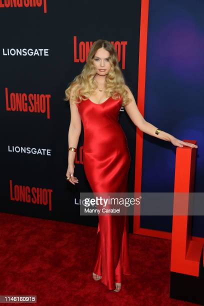 Elena Matei attends the New York premiere of Long Shot at AMC Lincoln Square Theater on April 30 2019 in New York City
