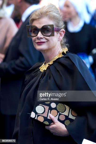 Elena Ochoa attends the Princesa de Asturias Awards 2017 ceremony at the Campoamor Theater on October 20, 2017 in Oviedo, Spain.