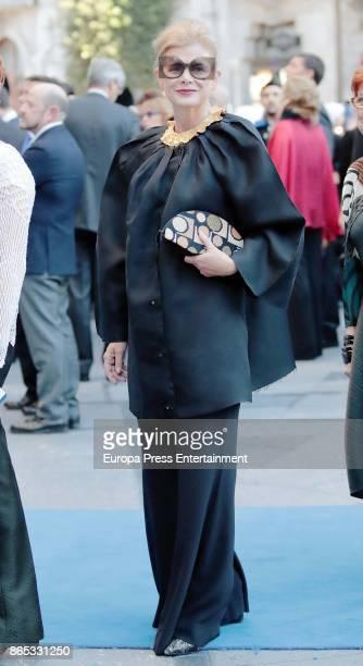 Elena Ochoa attends the Princesa de Asturias Awards 2017 ceremony at the Campoamor Theater on October 20 2017 in Oviedo Spain