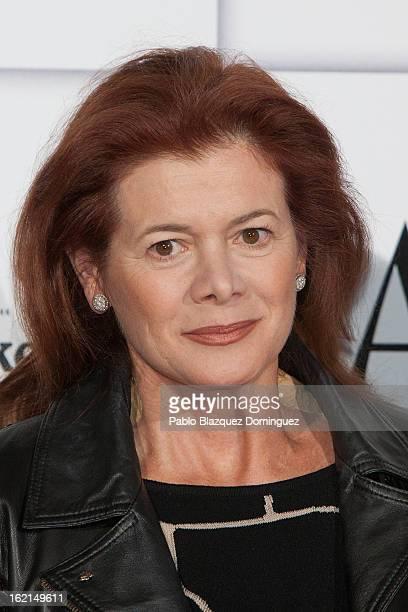 Elena Ochoa Foster attends AD Awards 2013 at Casino de Madrid on February 19 2013 in Madrid Spain